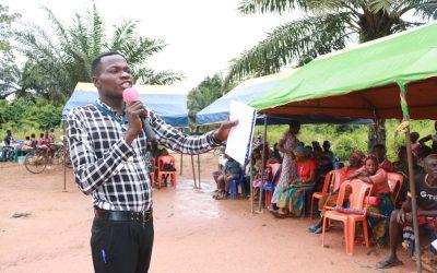 BHCPF Awareness at Enrinna HC, Umuekeoka ward of Ezza North LGA of Ebonyi State.